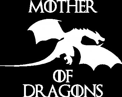 Принт Жіноча футболка Mother Of Dragons, Фото № 1 - FatLine