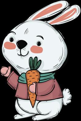 Принт Жіноча футболка Winter bunny, Фото № 1 - FatLine