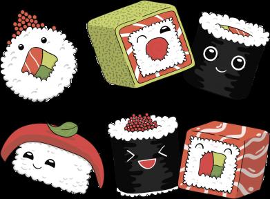 Принт Жіноча футболка Sushi, Фото № 1 - FatLine