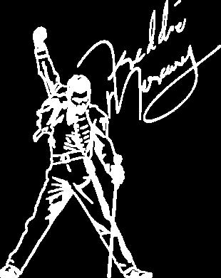 Принт Жіноча футболка Freddie Mercury Queen, Фото № 1 - FatLine