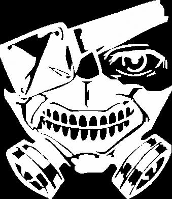 Принт Кепка Tokyo Ghoul mask, Фото № 1 - FatLine