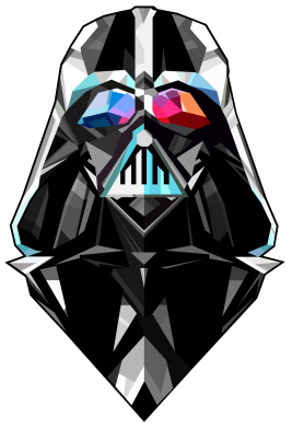 Принт Снепбек Darth Vader Art - FatLine