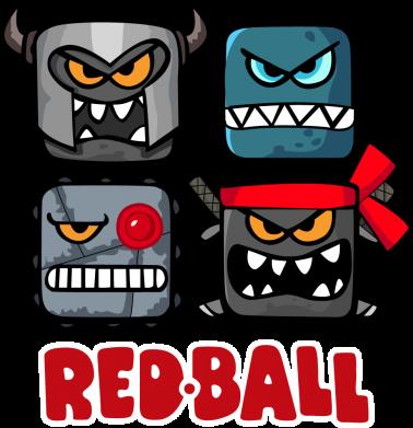 Принт Жіноча футболка Red ball heroes, Фото № 1 - FatLine