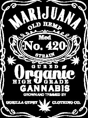 Принт Жіноча футболка Cannabis label, Фото № 1 - FatLine