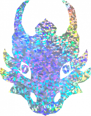 Принт Кепка Dragon face, Фото № 1 - FatLine