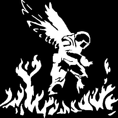 Принт Женская футболка Soldier on fire, Фото № 1 - FatLine
