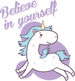 Принт Женская футболка Believe in yourself, Фото № 1 - FatLine