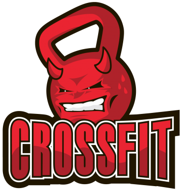 Принт Подушка Evil Dumbbell CrossFit - FatLine