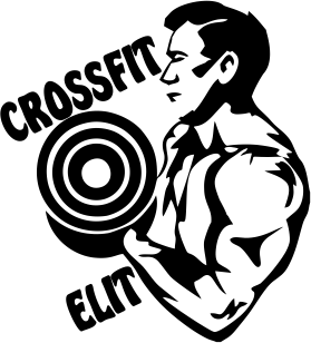 Принт Кружка 320ml CrossFit Elit Logo - FatLine
