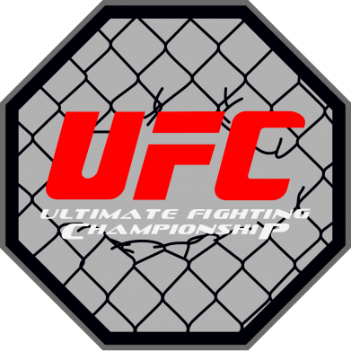 Принт Женская футболка UFC Cage - FatLine