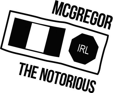Принт Подушка McGregor The Notorious - FatLine