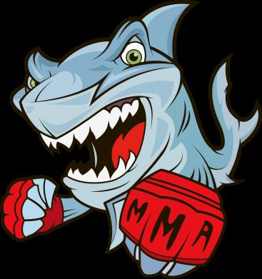 Принт Женская майка Shark MMA - FatLine