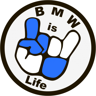 Принт Шапка BMW is Life - FatLine