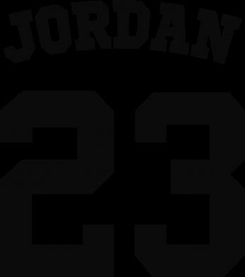 Принт Детская футболка Джордан 23 - FatLine