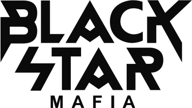 Принт Фартук Black Star Mafia - FatLine