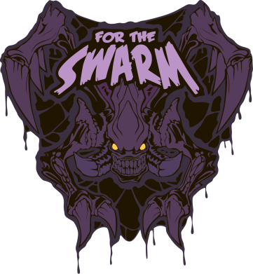 Принт Подушка Zerg For the Swarm - FatLine