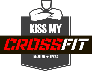 Принт Футболка Kiss my CrossFit - FatLine