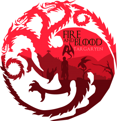 Принт Сумка Fire and Blood - FatLine