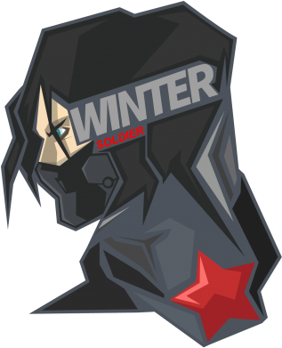 Принт Снепбек Winter Soldier - FatLine
