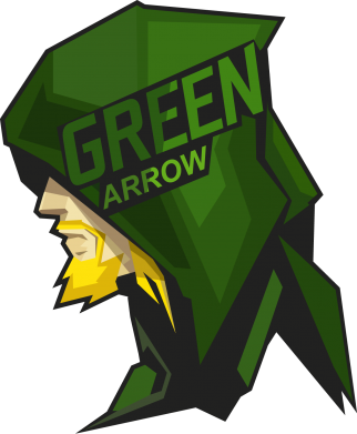 Принт Футболка Поло The Green Arrow - FatLine