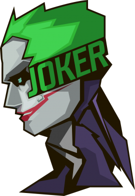 Принт Кепка Joker Art - FatLine