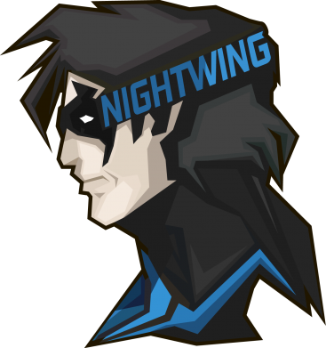 Принт Шапка NightWing - FatLine