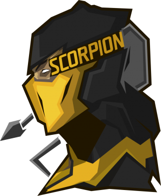 Принт Фартук Scorpion MC - FatLine