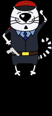 Принт Женская футболка с V-образным вырезом Самый лучший полицейский - FatLine