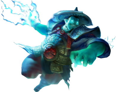 Принт Женская майка Storm Spirit - FatLine