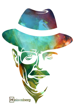 Принт Реглан Heisenberg - FatLine