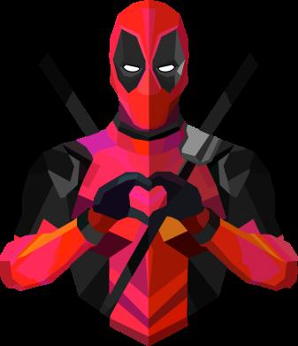 Принт Футболка з довгим рукавом Deadpool Love, Фото № 1 - FatLine