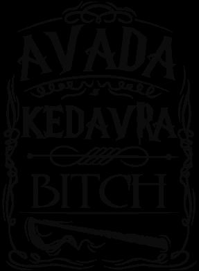 Принт Сумка Avada Kedavra Bitch - FatLine