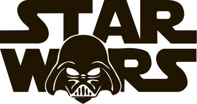 Принт Шапка StarWars Logo - FatLine