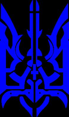 Принт Детская футболка Герб з металевих частин - FatLine