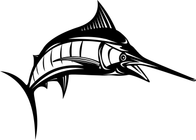 Принт Кружка 320ml Рыба Марлин - FatLine