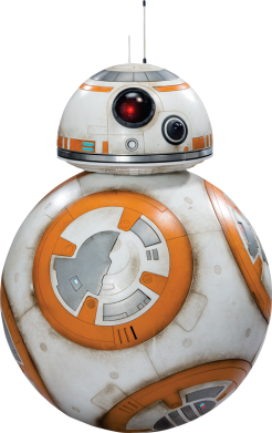 Принт Фартук BB-8 - FatLine