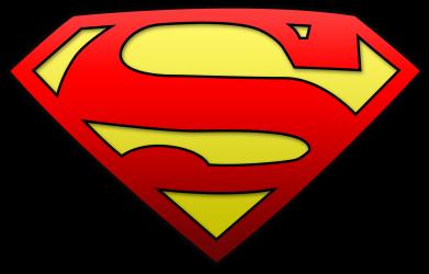 Принт Шапка Superman Logo - FatLine