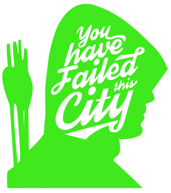 Принт Футболка You have failed this city - FatLine