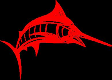 Принт Фартук Рыба Марлин - FatLine