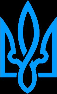 Принт Женская футболка с V-образным вырезом Герб 2 - FatLine