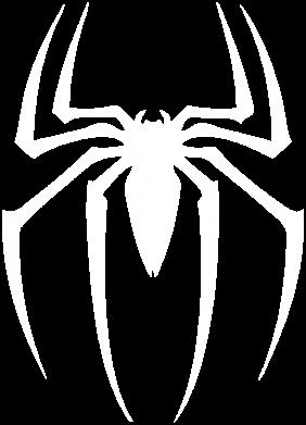 Принт Мужская толстовка на молнии Spider Man Logo - FatLine