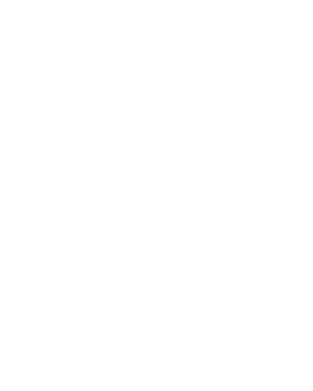 Принт Футболка Keep Calm and CrossFit on - FatLine