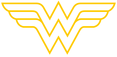 Принт Футболка Wonder Woman Logo - FatLine