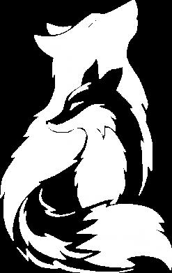 Принт Мужская толстовка Wolf And Fox, Фото № 1 - FatLine