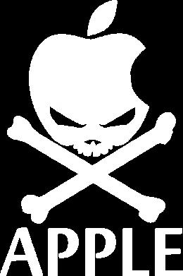 Принт Мужская толстовка Pirate Apple, Фото № 1 - FatLine