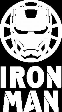 Принт Жіноча футболка Iron man text, Фото № 1 - FatLine