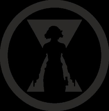 Принт Жіноча футболка Black Widow logo, Фото № 1 - FatLine