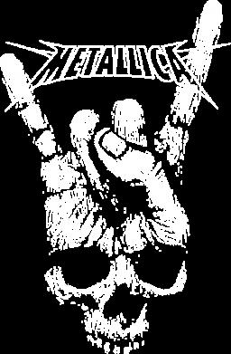 Принт Женская футболка Skull and hand Metallica, Фото № 1 - FatLine