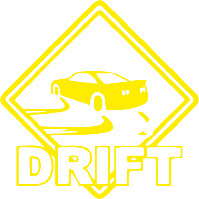Принт Футболка Поло Drift - FatLine