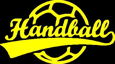 Принт Детская футболка Гандбол Лого - FatLine
